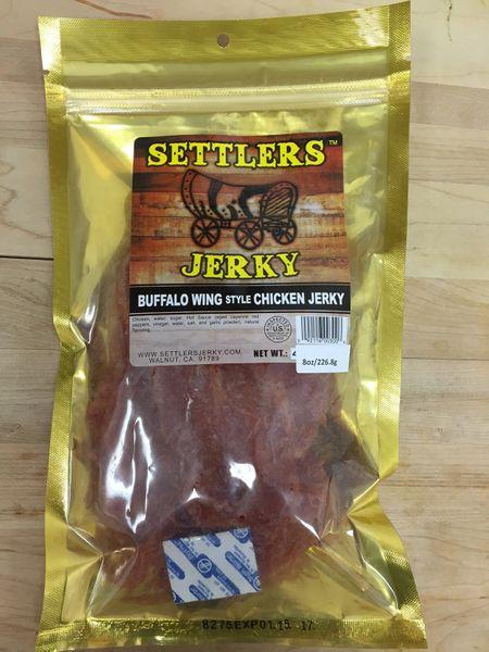 A pack of boneless buffalo chicken wing jerky