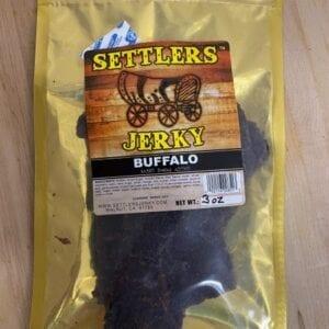 A buffalo jerky