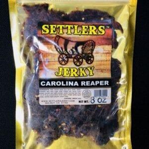 A Carolina reaper flavored jerky