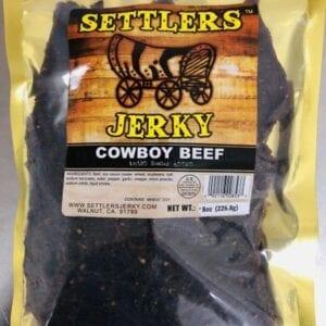 A cowboy beef jerky