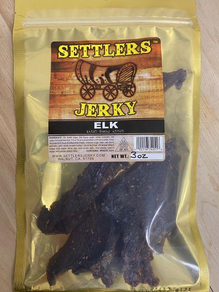 An original elk jerky
